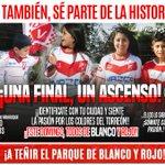 ¡¡PÓNTE LA ALBIRROJA Y NOS VAMOS A ALENTAR AL TORREÓN ESTE DOMINGO, TODOS JUNTOS!!!! #valdiviaCL https://t.co/I7nwbIDzGX