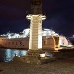 La Farola del Mar, la marquesina y toda la zona luce nuevo encendido. Restaurado por la AP de Tenerife. https://t.co/ftocuaOOYm