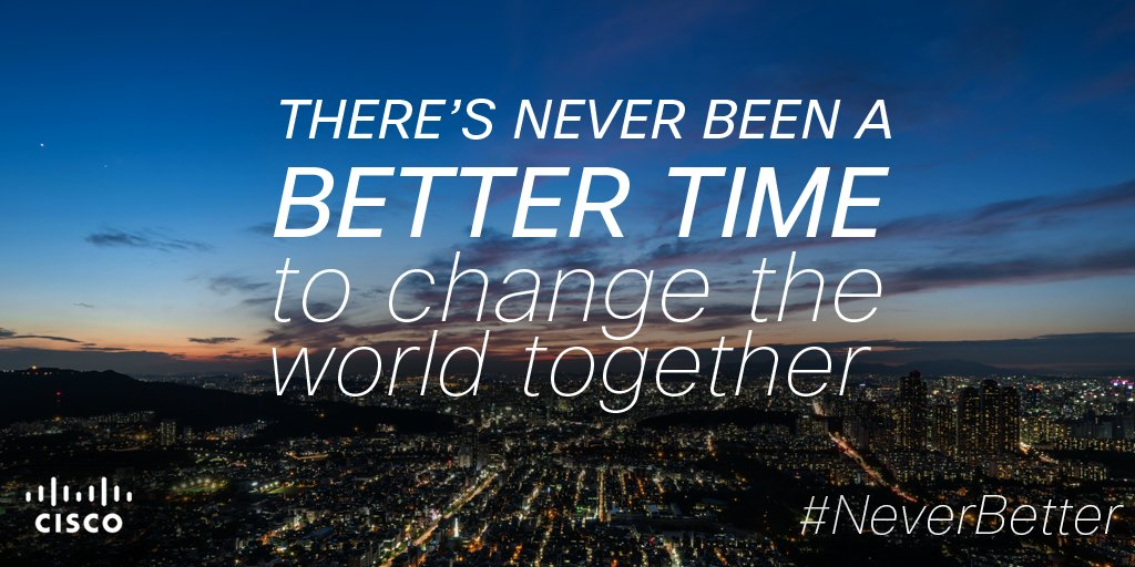 The world's best partnerships allow us to take on the world's biggest challenges. RT if you agree! #NeverBetter https://t.co/TIzWPta9Tk
