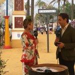 .@AntonioSaldanaM en @OndaJerezRTV realizando las primeras valoraciones de la #FeriaDelCaballo 2016 https://t.co/OIzEwOD3RC