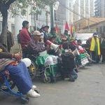 #Ahora personas con discapacidad realizan mitín en puertas del Ministerio de Salud #ANF https://t.co/6zbEDOAFkN