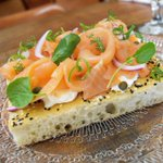 Smoked salmon bruschetta for Mother's Day Brunch. Call to reserve. #mothersday https://t.co/FC37QRzHYH