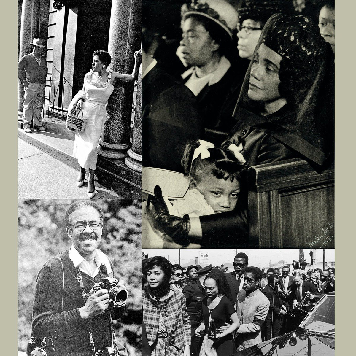 Today Moneta Sleet becomes 1st AA to win Pulitzer for photo of Mrs. King & daughter at MLKs funeral.  #BlackHistory https://t.co/6sn7mtw5W1