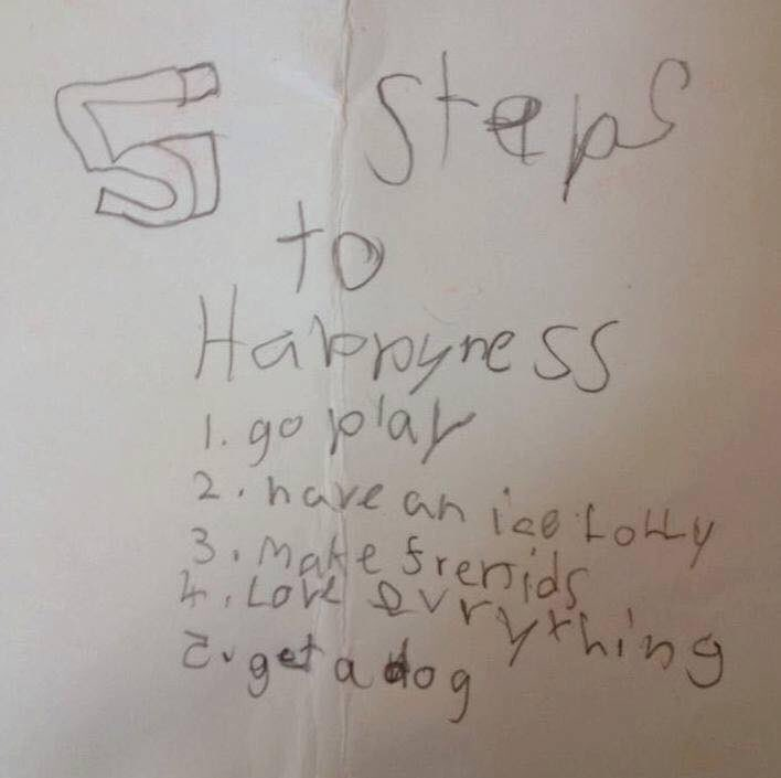 Brilliant advice from an 8 year old! https://t.co/57EdAfeNPY