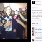 Em defesa da democracia, agora na Câmara. Ótimo queda do Cunha, seus atos são ilegítimos. Fim ao golpe! https://t.co/gXyL2Imugc