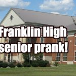 Franklin High School Senior Prank pics. Pretty epic sign we must say. https://t.co/ooUOtX9ks0 @wcsFHS https://t.co/PzVIQfuPtr