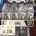 Get your ounces at @ChampBeverages in Staten Island. OUNCE WATER™ 40s are 2/$4. #OunceWater #GetOunced #SINY #NYC https://t.co/2Y5TMehJzG