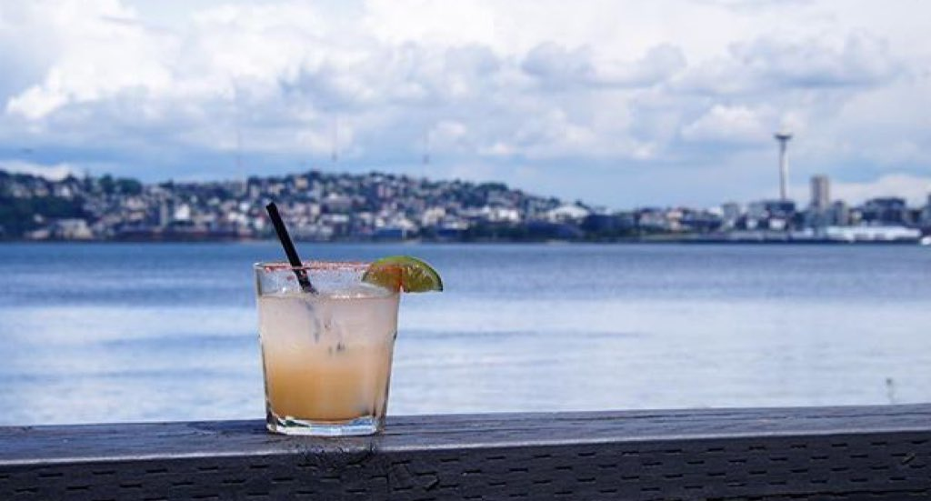 $5 Margaritas ALL DAY -- Don't even worry about driving and take the West Seattle Water Taxi!