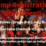 Registration for camps are now open! Sign up for Lil Wolves Camp and Individual Camp at https://t.co/PERYZX8cZz! https://t.co/zmQ95NS6Ab