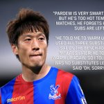 Lee Chung-yong has been fined by Crystal Palace after these comments on Alan Pardew 😂 https://t.co/CFvZK40k3t