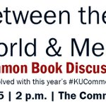 Lend your voice to #KUCommonBook TODAY. 2 p.m. @TheCommonsKU, Spooner Hall. Open to students, faculty, staff https://t.co/Vardl8Kjpb