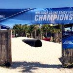 NCAA Beach Championships, were here!! #BearDown ##NCAABVB https://t.co/D7c6H65zPB
