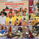 #MSGmissionHumanity  Commendable work by volunteers!! Blood donation to serve mankind. GREAT!! Blessings to all. https://t.co/41QpihYikN