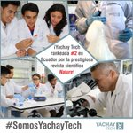 #Yachay Tech: rankeada #2 en .#Ecuador por la prestigiosa revista científica @nature Lee más https://t.co/5uRoYAhTCk https://t.co/neVyhJkdob