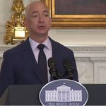 Video: Jeff Bezos at the White House promotes plan to hire 25,000 veterans and military https://t.co/Qq4Smhhybz https://t.co/2u6gZLCRAo