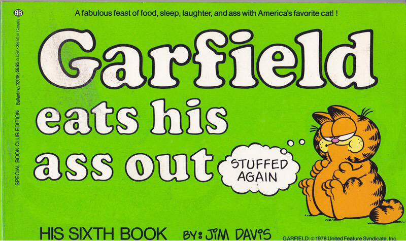 Here's the other #Garfield book I picked up . . . I mean another perfect bathroom book right? https://t.co/ojV7x7rpzp