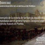 Cuando los mexicanos nos unimos podemos vencer cualquier enemigo. #BatallaDePuebla https://t.co/ErmQ8m6Kw5