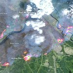 Wildfire Spreads in Fort McMurray https://t.co/WP4HnKjL7T #NASA https://t.co/7dUTDAmqRd