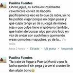 Paulina y su opinión respecto al conflicto que se vive en Chiloe. https://t.co/QmfWYpoh9s
