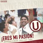 ¡Eres mi pasión! El Apertura aún no termina, sigamos alentando ¡Vamos Cremas! @Universitario vs Melgar #UvsMEL https://t.co/w6mmAhEEld