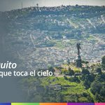 Quito, la capital que toca el cielo #VisitaQuito https://t.co/GCJtrPA7ly