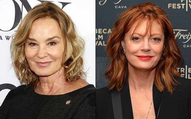 Jessica Lange & Susan Sarandon to play Joan Crawford & Bette Davis in Ryan Murphy's 'Feud':