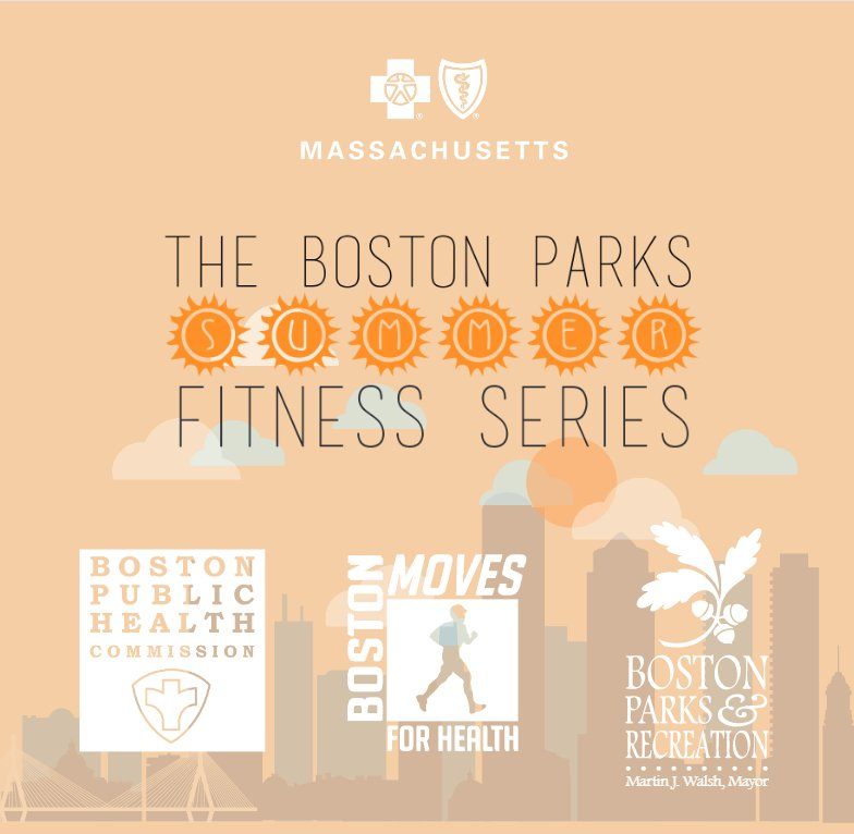 IT'S BACK! Excited to announce 2016 Boston Parks FREE Summer Fitness Series! Full schedule-> https://t.co/tHZT6UHE4U https://t.co/iaQR5FUU15