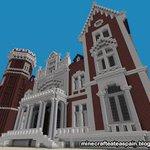 Réplica Minecraft del Palacio de la Isla, Burgos, España. https://t.co/fXVgJd3lQZ #minecraft #burgos #gamer https://t.co/YJGHIHw9xL