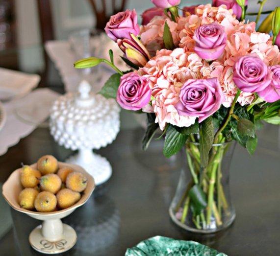 .@glamkaren is all ready for Mother's Day brunch