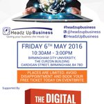 Going to be a great Q & A session #Digital #Birmingham @BCUBusiness @BCUAdvantage with @UDriveSM https://t.co/V75GVGbaJ0