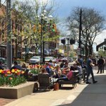 What a perfect spring day! Come join us on our patio! 👍🏻🎉🍻〽️😎☀️☀️#A2 #mainstreet @OnlyAnnArbor https://t.co/iS6ylT77NW