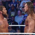 .@BigCassWWE doesnt seem pleased with @RealCurtisAxel. #SmackDown https://t.co/Yb2UfMvidB