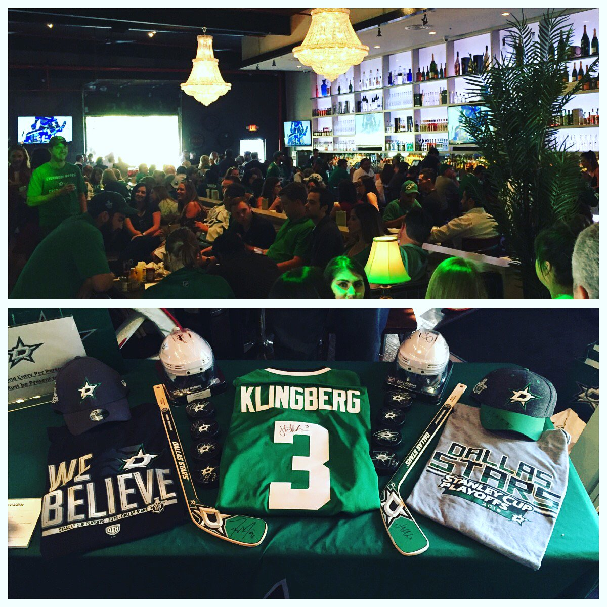Here we go! Crucial Game 4! Official @DallasStars Playoff Watching Party underway at @theeberhard  #NHL17Benn https://t.co/9wcGCMSese