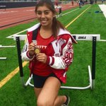 Bronze medal to Junior Bryanna Robles in JV 100 hurdles! Hey Cardinals! https://t.co/XWitiyC9Dz