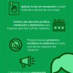 Las mujeres tendrán una nueva vida, plena y segura.¡No a laviolencia en #UnNuevoVeracruz! https://t.co/ePTSj8OqJH