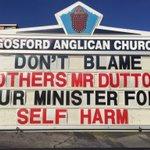 #auspol @PeterDutton_MP take responsibility for the harm you cause to #asylumseekers on #nauru #manus https://t.co/gl7wFMYUmC