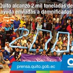 ¡Gracias #QuitoSolidario! Alcanzamos 2 mil toneladas de donaciones para hermanos de la Costa https://t.co/buD0PoSydB https://t.co/np8Nj419oc