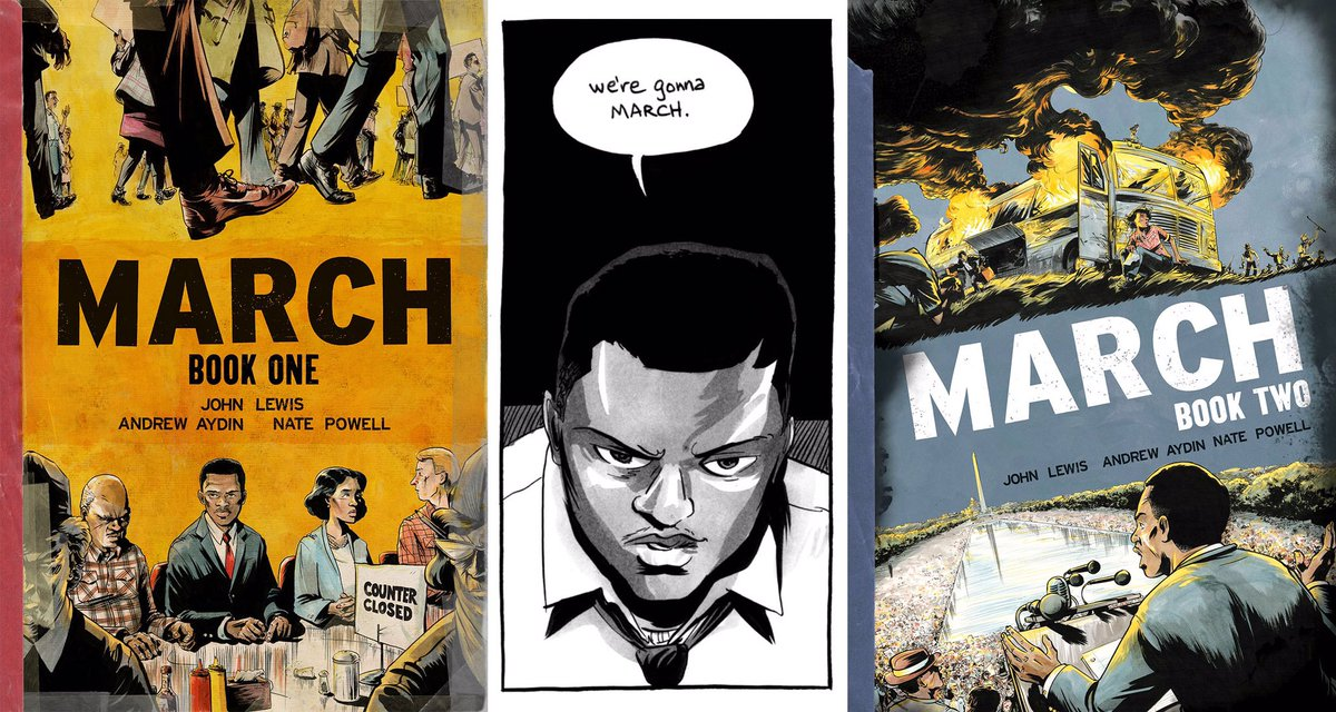 Civil Rights Icon @repjohnlewis Brings Graphic Novel Education to NYC Schools! https://t.co/iEIzTnhpX3 https://t.co/UTUOgzU17s
