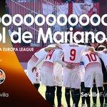 Gooooooooooooooooooool del #SevillaFC, goooooolazo de @marianof25 desde fuera del área #vamosmisevilla #UEL https://t.co/ttzxqSRyud