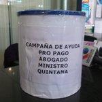 #ÚLTIMO Campaña solidaria para que ministro Juan Ramón Quintana contrate un abogado recaudó más de 183 bolivianos. https://t.co/GHlsb9QY28
