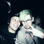 Una foto de ayer con Jack. Gran persona <3 Fangirleando como nunca @Jack_Septic_Eye https://t.co/AapxFuLLWC