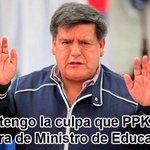 Flash!!! En #LaRepartijaDePPK a César Acuña le tocará la cartera del ministerio de educación !! https://t.co/aY18IQXNqK