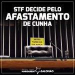 Antes tarde do que nunca: STF vota de forma unânime pelo afastamento de Cunha #TchauQuerido #NãoVaiTerGolpe https://t.co/LO95oOF7dz