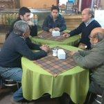 Con senador @patriciowalker y dirigentes microbuses de Coyhaique @Senado_Chile @ElChelenko https://t.co/Xr9oFDpRvS
