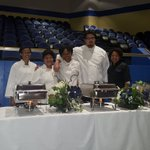 Our culinary students prepared and served the wonderful meal for the PTA Awards Dinner.@HamptonCSchools @FordNGL https://t.co/dQ7WHQSpZZ