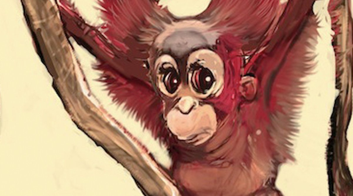 I just wrote this story about a feathered orangutan that can fly... https://t.co/LGWI48gk3B https://t.co/B6jEUs0XHb