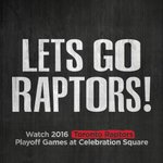 Get ready for Game 2. The @Raptors are back on the @MCSEvents big screens tonight at 8pm vs the Heat! #WetheNorth https://t.co/iMXjLAj9IT