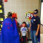 Woodway PTA superheroes!! @WoodwayElem https://t.co/7rN0zaD9Mo