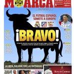Marca rend hommage aux 3 finalistes espagnols des coupes européennes 2016 ! https://t.co/UlDZCHNUVh
