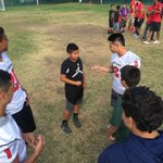 @SBCCFootball in the huddle at the Boys and Giros Club of Santa Barbara https://t.co/XL7UrMREr0